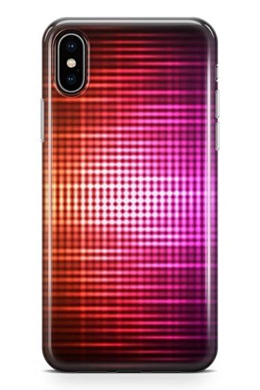 Lopard iPhone Xs Max Kılıf Silikon Arka Kapak Koruyucu Aurora Desenli Full HD Baskılı Renkli